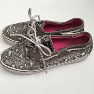 👗 Sperry Top-Sider Leopard Sequin Shoes